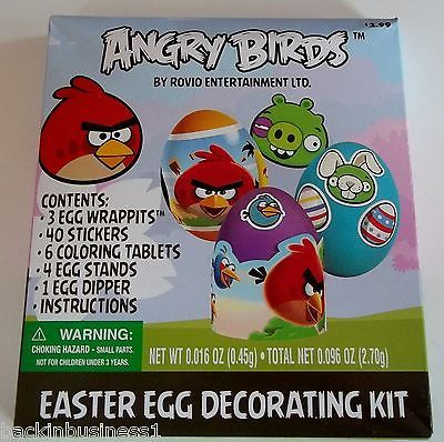 Angry #birds - rovio dudley - easter egg decorating kit - #party #supplies - bnip,  View more on the LINK: 	http://www.zeppy.io/product/gb/2/251456556508/