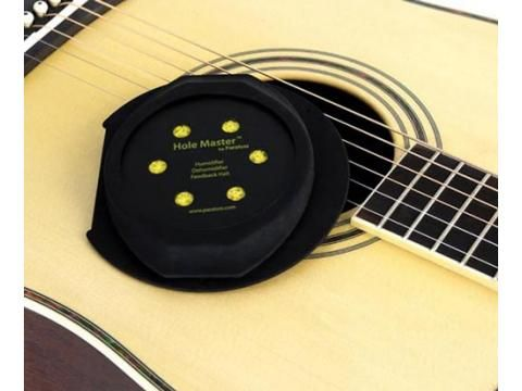 Hole Master 3 in 1 Feedback Stopper - BC Wholesalers. The Hole Master not only suppresses feedback on Acoustic/Electric guitars it also protects your guitar from cracks and tone changes by sustaining optimum humidity with the switchable Humidifier and Dehumidifier, even in the most severe conditions.