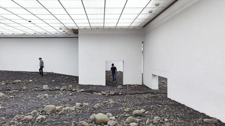 «Riverbed», le projet d'Olafur Eliasson à la Fondation Louisiana d'Humlebaek, à une heure au nord de Copenhague. Photo © Studio Olafur Eliasson.