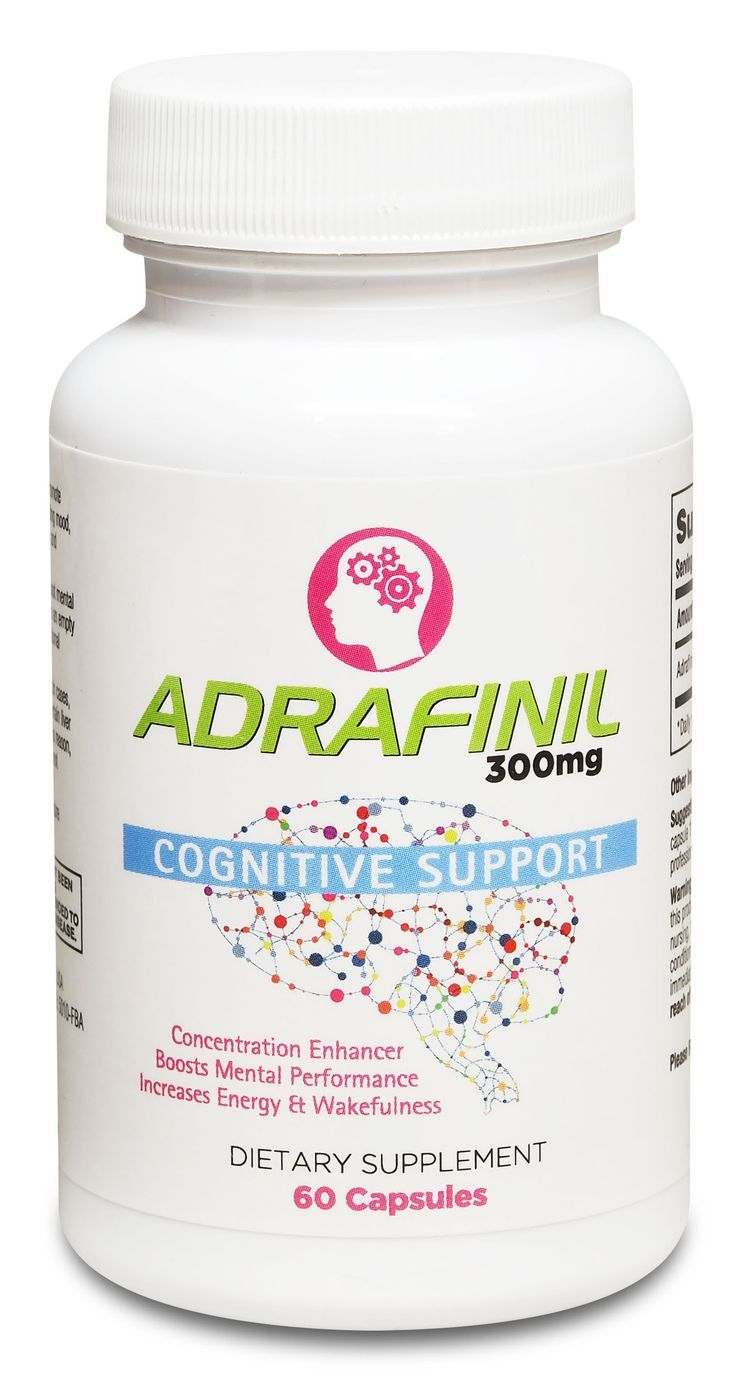 Adrafinil 300mg Capsules: Adrafinil is a potent nootropic dietary supplement proven to promote daytime wakefulness and alertness. It also positively affects mood, concentration, energy levels, motivat