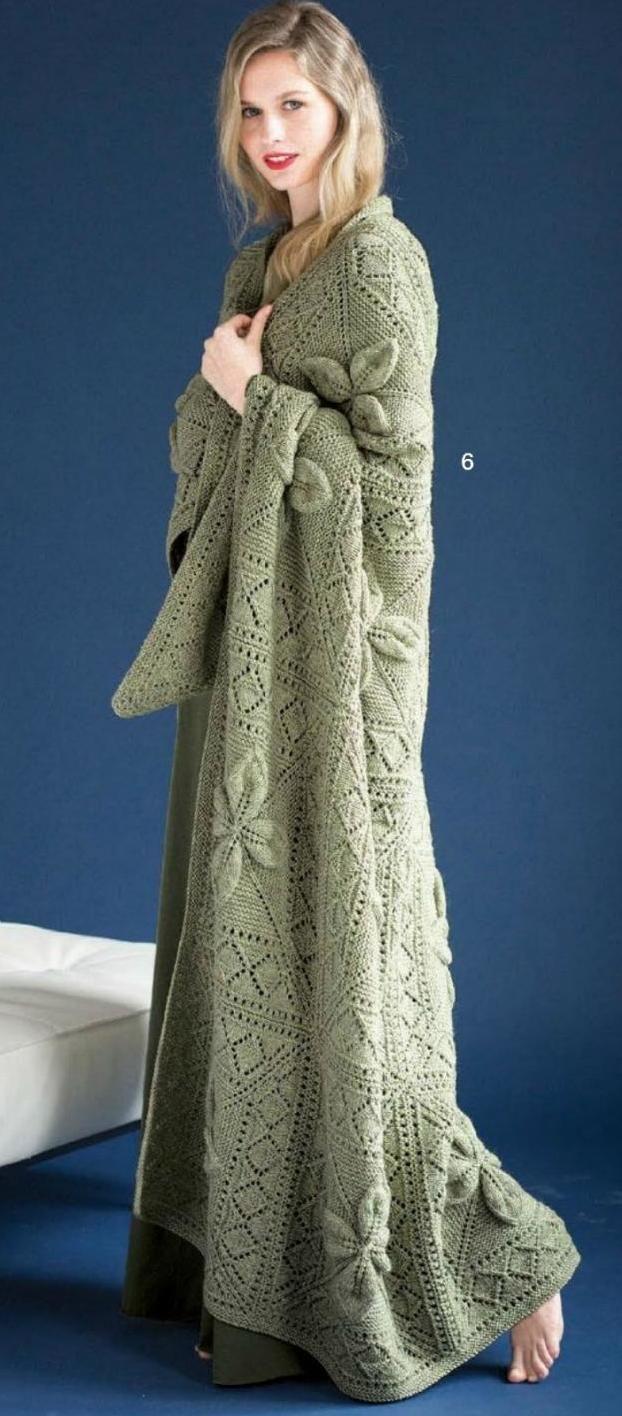 Enchanting Free Vogue Knitting Patterns Festooning - Blanket ...