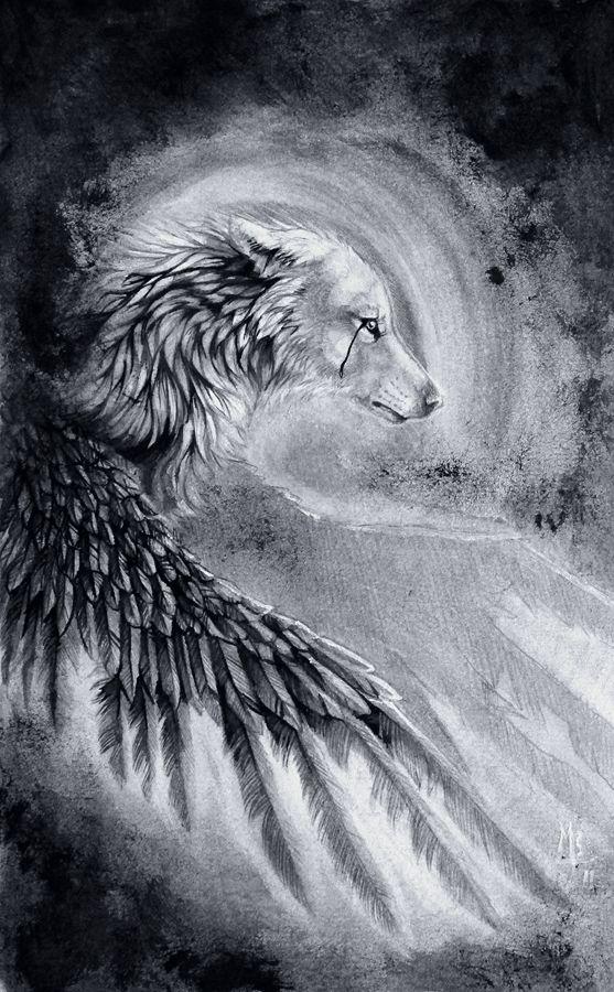 Reflection of my Soul by wolf-minori.deviantart.com on @deviantART