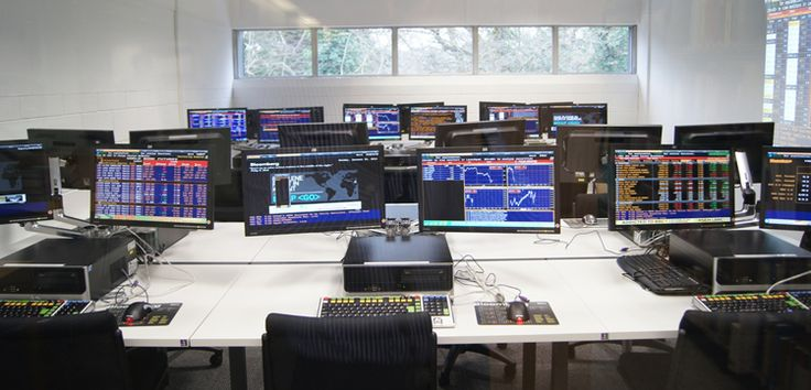Kingston University Trading Room