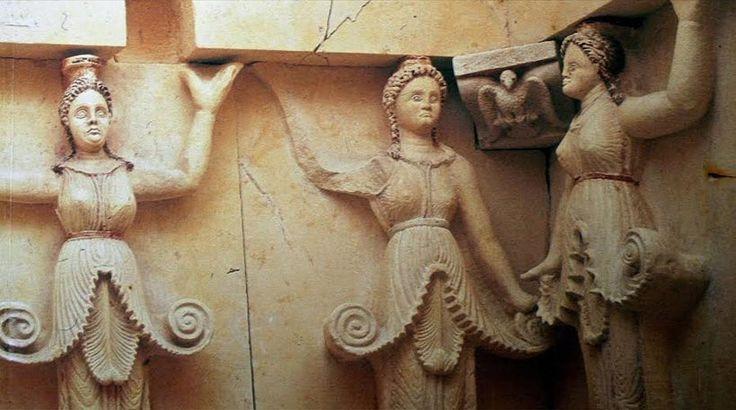 Τι συμβολίζουν οι Καρυάτιδες της Αμφίπολης;