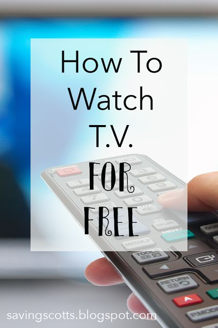 Still paying a fortune for cable? You could watch TV for nothing (or next to nothing). How to watch TV for free. | Rebecca @ SavingScotts