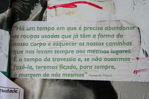 Fernando Pessoa...