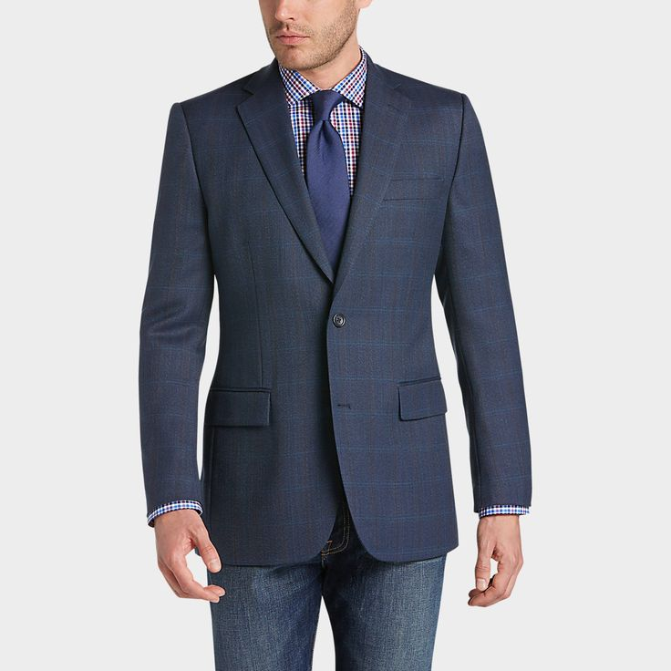 Buy a Joseph & Feiss Gold Classic Fit Sport Coat, Blue Plaid online at Men's Wearhouse. See the latest styles of men's Sport Coats. FREE Shipping on orders $50+.