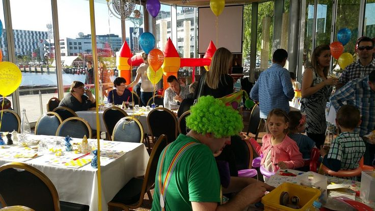 As one of the most popular party venues in Melbourne, Harbour Kitchen will make your child's party a memorable experience for all involved. We go that extra mile to provide a family friendly experience, from arranging a separate changing and feeding space in or next to the washroom, to making space to park prams and pushers. We can also accommodate gift tables and different seating arrangements to suit the number of guests you have. #children #party #kidsparty #christening #family #venue