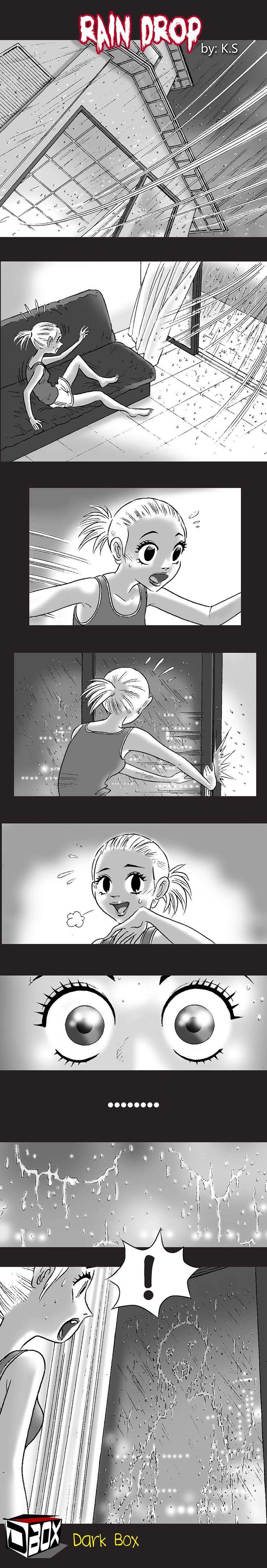Silent Horror :: Rain Drop   Tapastic Comics - image 1
