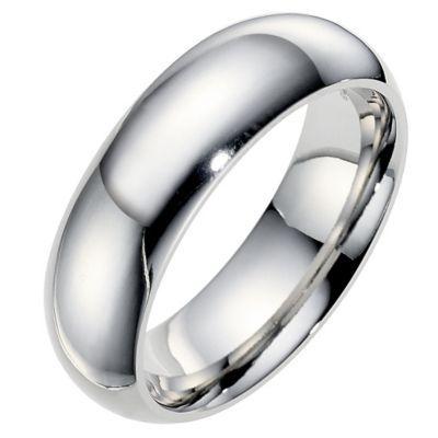 Cobalt 7mm Polished Wedding Ring Ernest Jones Wedding