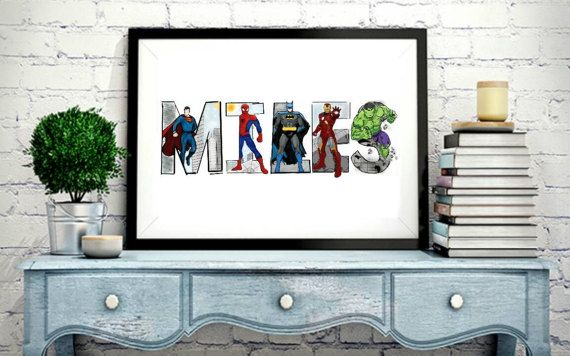 How to Order: (1) View my Superhero Letter Dictionary at this link here: https://www.dropbox.com/sh/md5ignqu8w3s66b/AAAJtmRRIEISrusU1LUe6g4Ra?dl=0 (2) Place the item in your cart (3) Select how many letters in name * If there are letters in the name that I do not have in my dictionary- please select the amount of letters + the number of letters you need me to create. (example: 1-5 + 1 creation) There is a small additional fee for creation. If there are 4 or more ...