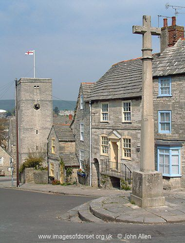 Swanage is a coastal town and civil parish in the south east of Dorset. The town, originally a small port and fishing village flourished in the Victorian era, when it first became a significant quarrying port and later a seaside resort for the rich of the day. Today the town remains a popular tourist resort, this being the town's primary industry, with many thousands of visitors coming to the town during the peak summer season, drawn by the bay's sandy beaches and other attractions.