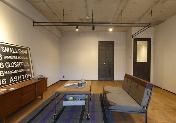 札幌市で注文住宅の設計・施工を行うリヨ・デ・ホーム。スタリッシュなインダストリアルデザインを、マンションでも手に入れることができる「マンションリノベーションパック」をご提供しています。