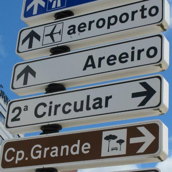 Do Porto para Lisboa, a pronúncia do norte e do centro de Portugal.