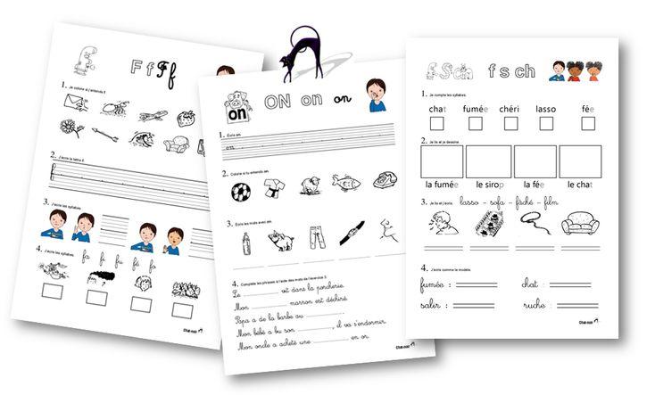 Exercices de lecture syllabique CP