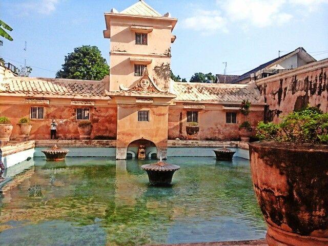 Historical Building - Taman Sari, Yogyakarta.