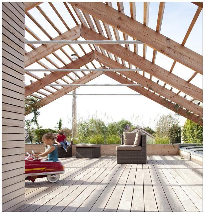 31 best facade et bardage bois images on Pinterest Wood facade - faire un crepi exterieur