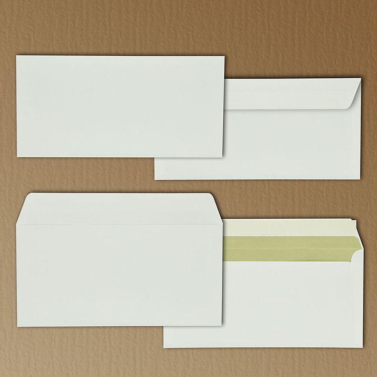 Briefumschlag Extrarough 50 Stück DIN lang (220 x 110 mm) 120 g/qm ohne Fenster