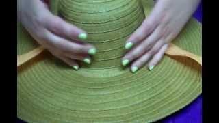 D.I.Y. Kentucky Derby Hat, via YouTube.