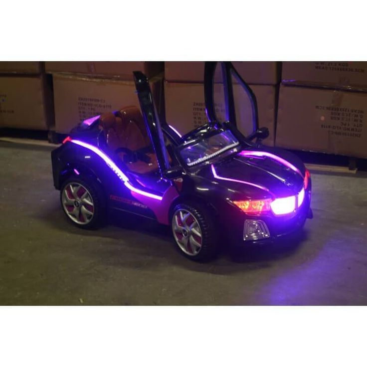 Fake Battery Purple Car