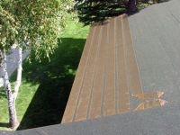 ZMesh Roof Ice Melt System installed under shingles