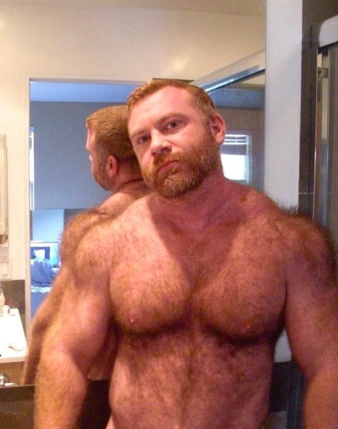 Black mature and hairy