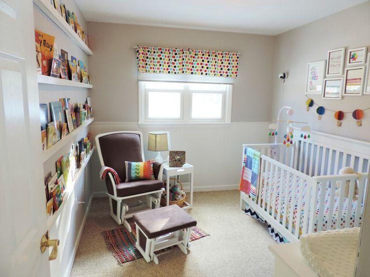Project Nursery - Colorful Baby Nursery