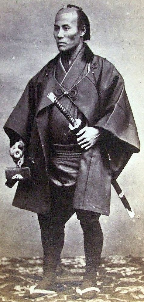 A well dressed samurai.
