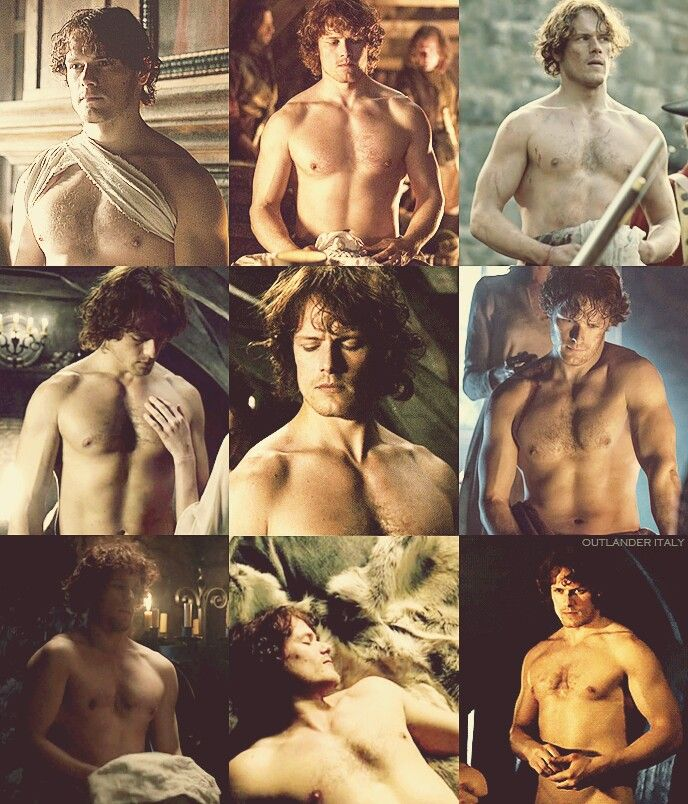 Outlander Italy ~ Shirtless Jamie Fraser Appreciation Post ~