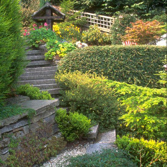 68 best slope terraced gardens images on Pinterest Garden