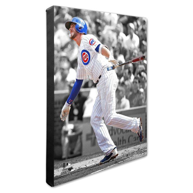 "Chicago Cubs Kris Bryant 16"" x 20"" Player Canvas - $63.99"