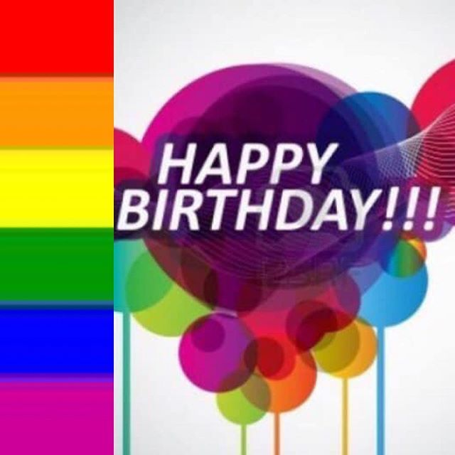 To Everyone Happy Pride To My Ricky Happy Birthday Happy