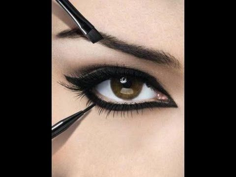 Ojos grandes. Maquillarse para que los ojos parezcan más grandes con Maybelline - YouTube