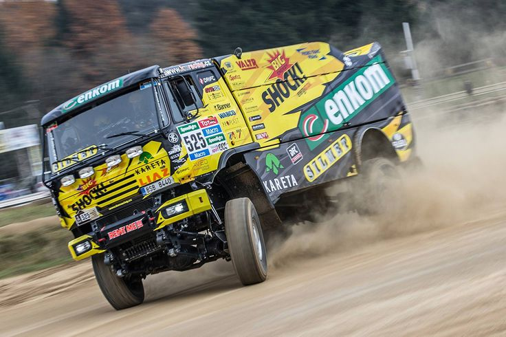 KM Racing Team - redesign for Rally Dakar 2015.