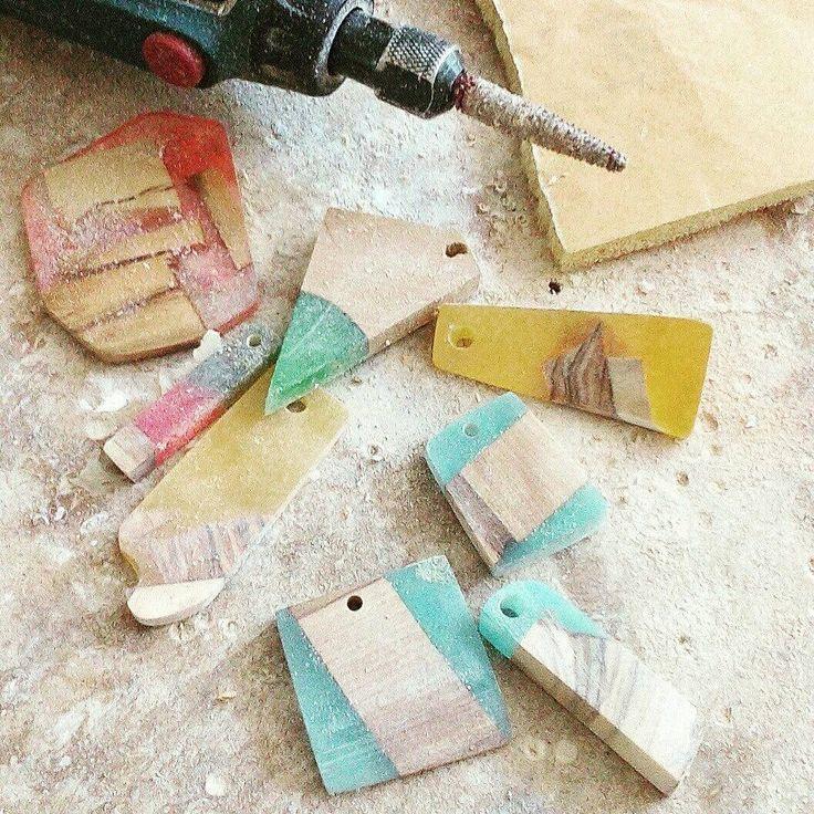 Just before the final finish!! #olivewood, #handmadeJewelery, #OliveWoodNecklace, #woodenjelwery, #WoodenNecklace, #OliveWoodResin, #ResinWood, #resinnecklace, #oneofakind, #woodnecklace, #handmadegreece, #woodencreations, #woodpendant
