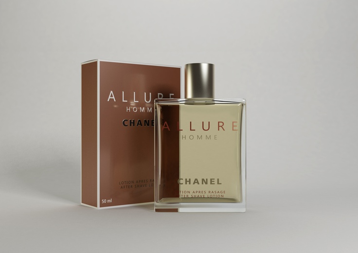Channel Allure #parfum #flakon #3D #cgi #packaging #cinema4d #produktvisualisierung #rendering #advertising www.sulaco-graphics.de