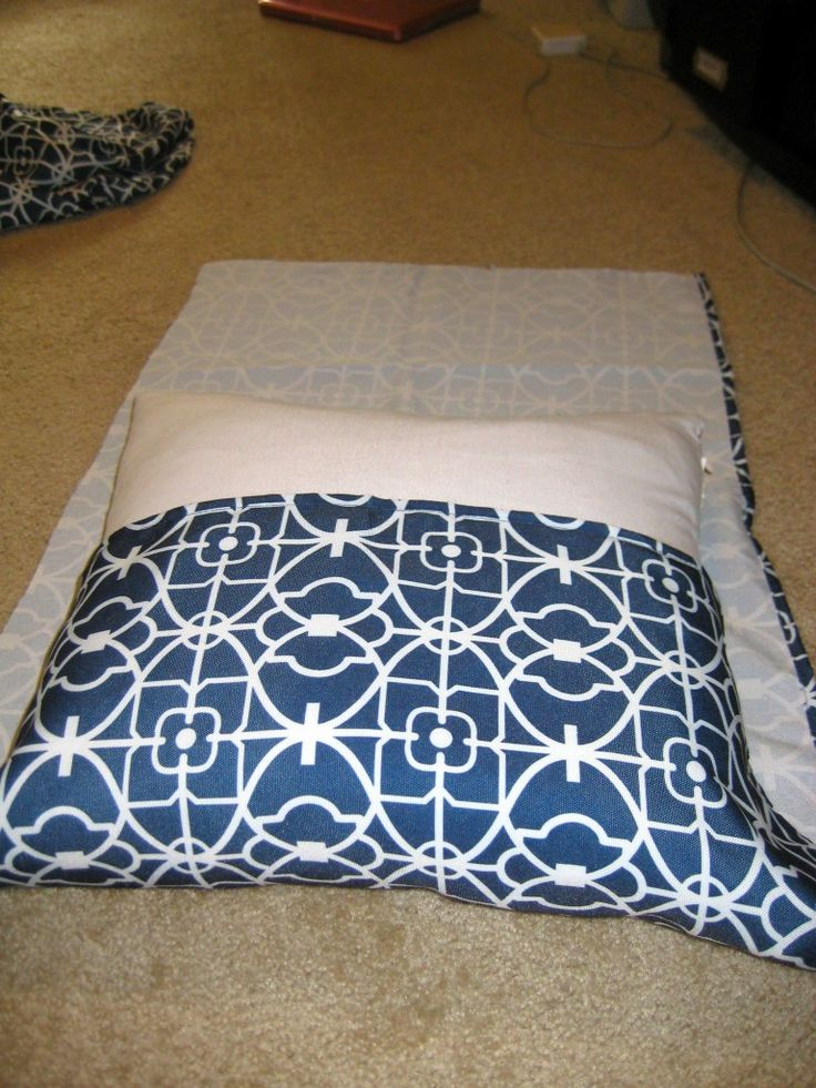 DIY Envelope Style No Sew Pillow Cover Tutorial- Charleston Crafted