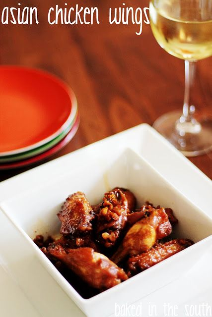 Crockpot Spicy Asian Chicken Wings