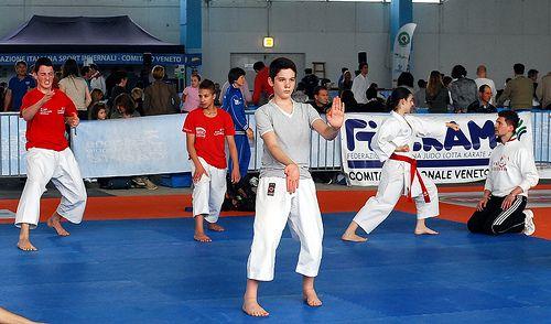 Il karate al Palaexpomar