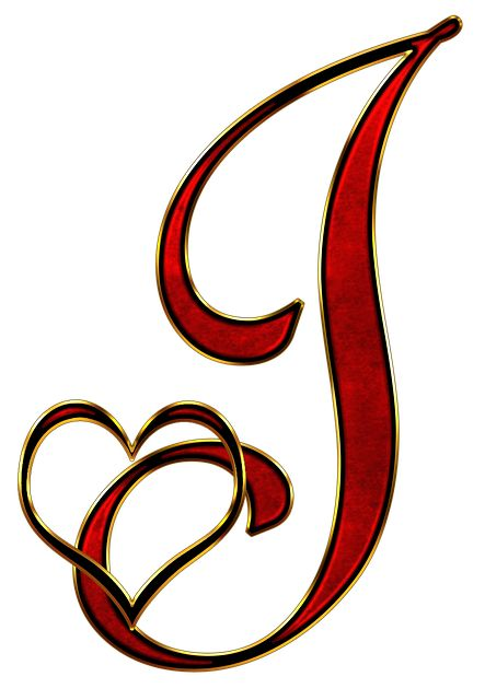 Free Image on Pixabay Alphabet, Letter, Initial, Heart