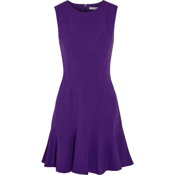 Diane von Furstenberg Stretch-jersey mini dress found on Polyvore