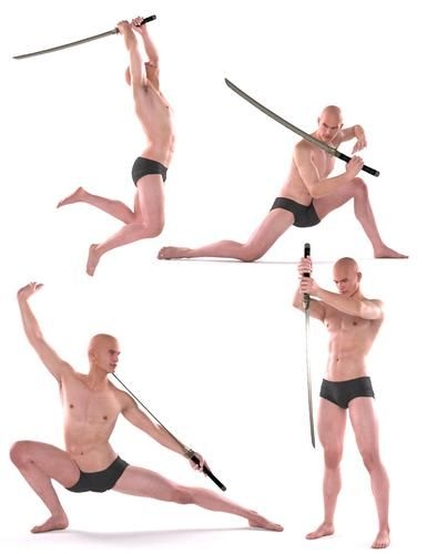 cool sword poses - Google Search