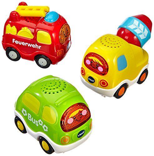 Geschenkidee: VTech Baby 80-203914 - Tut Tut Baby Flitzer-Set 3 (Feuerwehr, Bus, Zementmischer) Vtech http://www.amazon.de/dp/B0085IYQAO/ref=cm_sw_r_pi_dp_0xpwub1NC00ZA / 22 euro