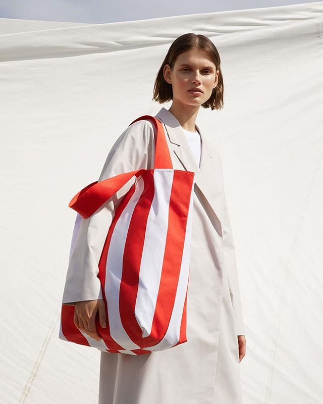 Striped XXL tote bags is what we need for Summer __________________________________________ COS 2017 summer edit  #stripes #bag #totebag #stripedbag #tote #beachbag #cos #minimal #minimalism #white #summer #spring #fashion #warm #hot #model #london #sun #sunisout #tuesday #xxl #bags  via VOLT MAGAZINE OFFICIAL INSTAGRAM - Celebrity  Fashion  Haute Couture  Advertising  Culture  Beauty  Editorial Photography  Magazine Covers  Supermodels  Runway Models