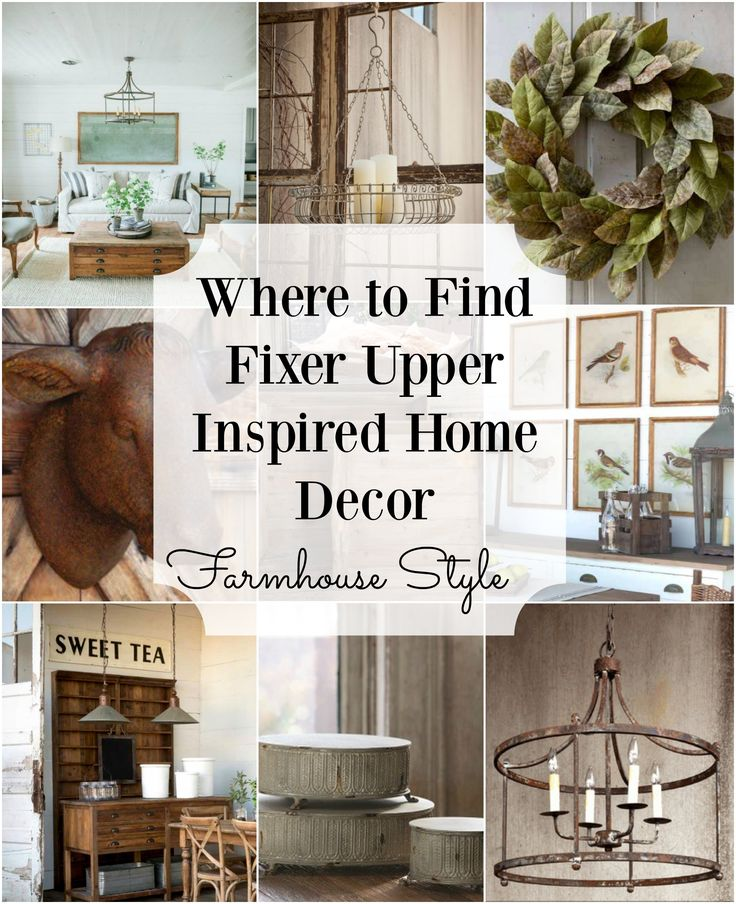 10 Fixer Upper Modern Farmhouse White Kitchen Ideas: Fixer Upper Inspired Home Decor! How To Get The Perfect