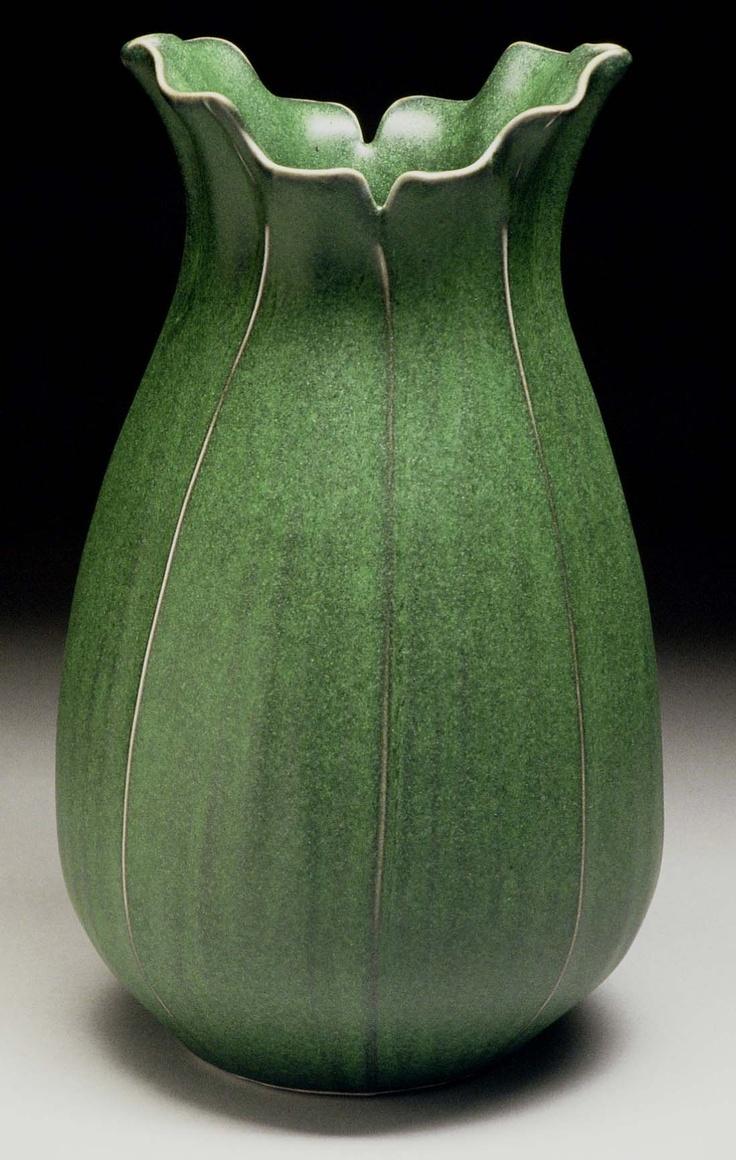 1568 best pottery shapes images on pinterest porcelain ceramic two leaf vase richard vincent reviewsmspy