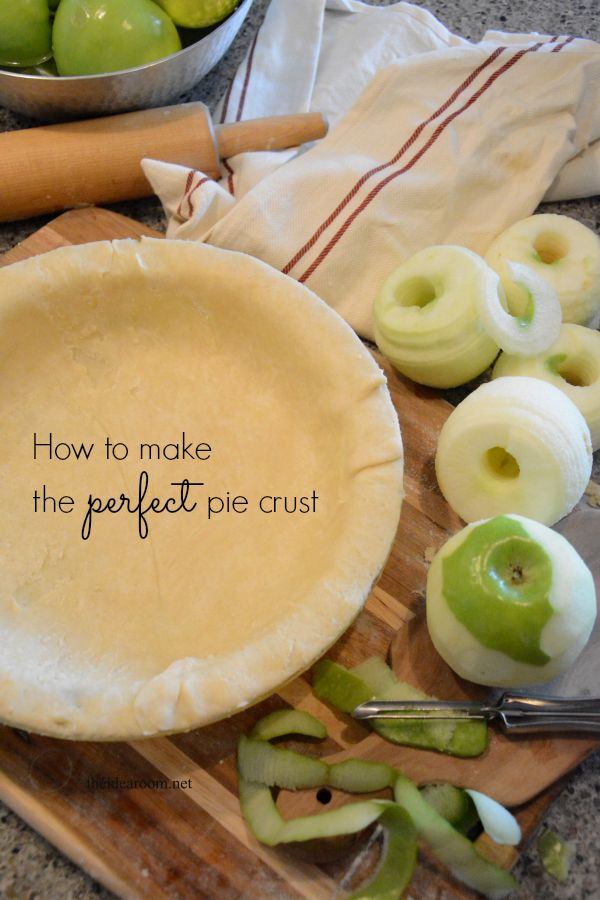 Finally a pie crust that is easy & delicious!  Just in time for thanksgiving!
