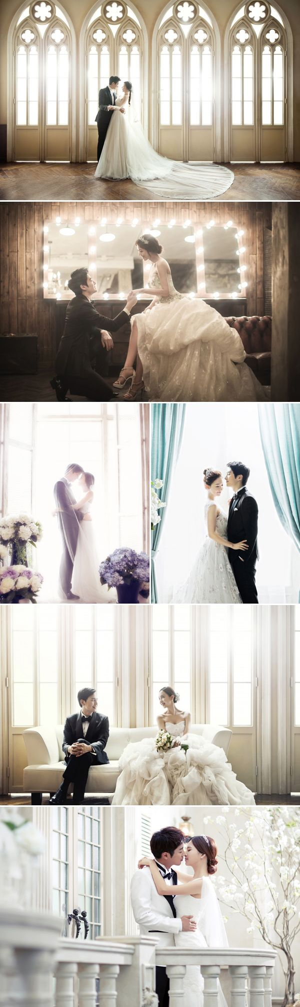 Real Life K-Drama? 30 Dreamy Korean Concept Pre-wedding Photos