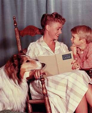 Lassie: Young Life, Rough Collies, Jon Provost, June Lockhart, 1950S Memories, Lassi Tv Show 1950, Lost In Space, Tvs, Favorite Pet