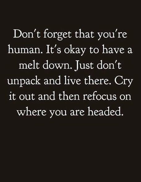 Don't unpack and live there - love this. I know it's serious but this lifted my spirits.